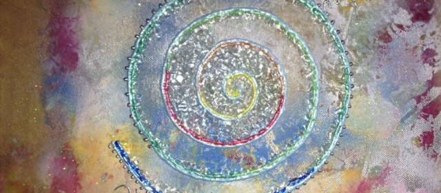 Die Spirale der Schwingung.