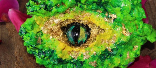 Auge des Erdrachen